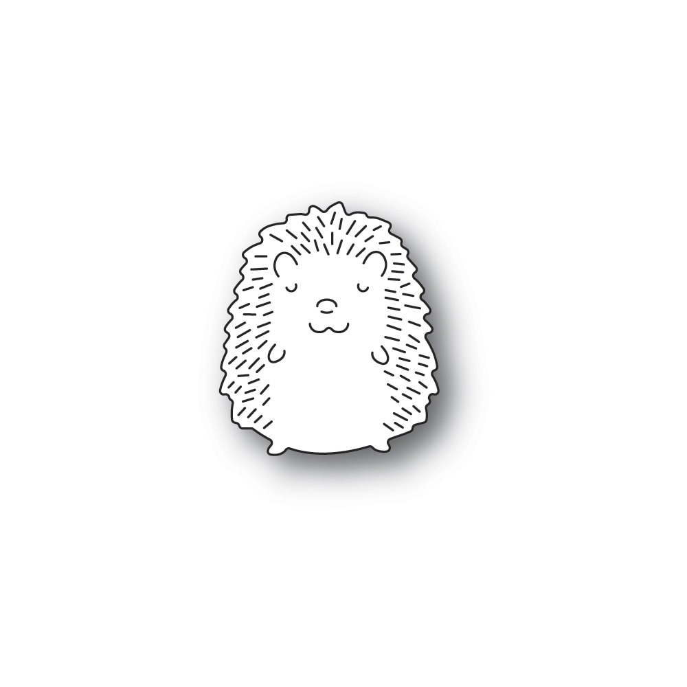 Poppystamps Whittle Papa Hedgehog 2378