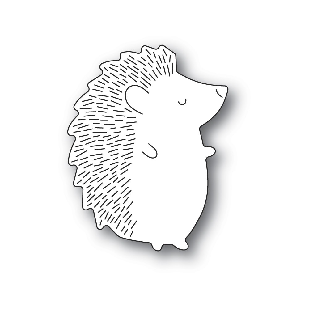 Poppystamps Big Hedgehog Right 2382
