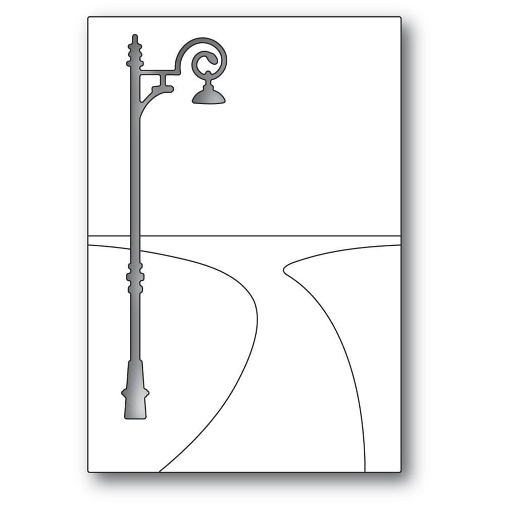 Poppystamps Lamplight Pathway 2389