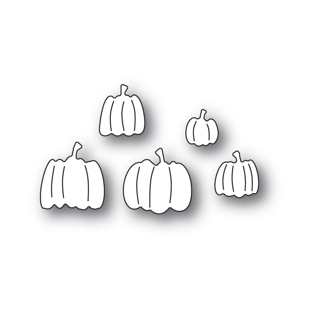 Poppystamps Pile of Pumpkins 2403