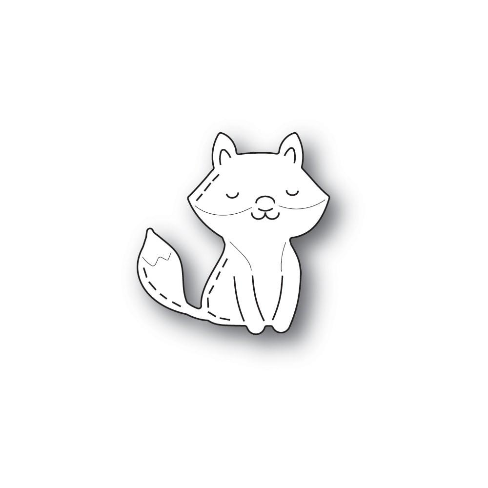 Poppystamps Whittle Happy Fox 2416