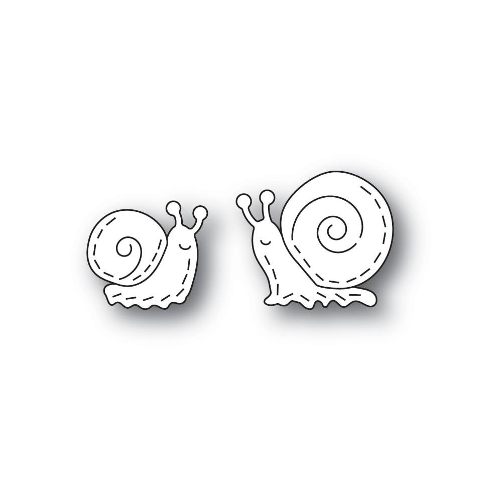 Poppystamps Whittle Snails 2417