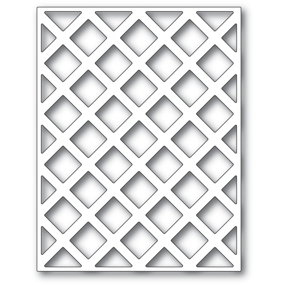 Poppystamps Lattice Plate 2427