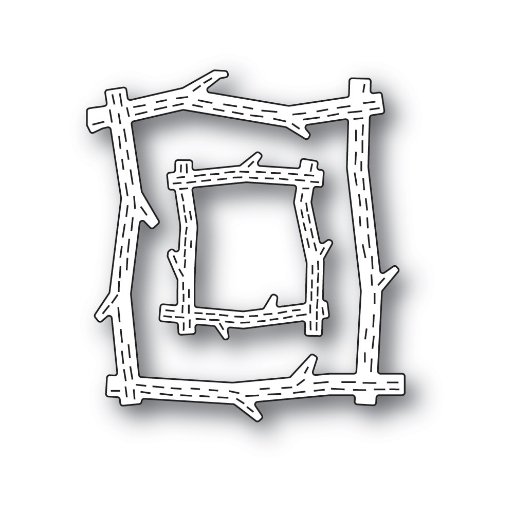 Poppystamps Whittle Wood Picture Frames 2433