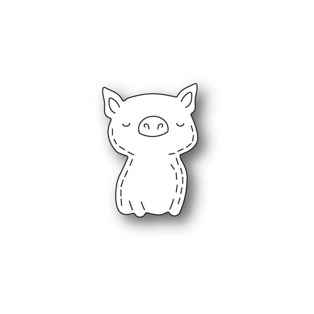 Poppystamps Whittle Pig 2434