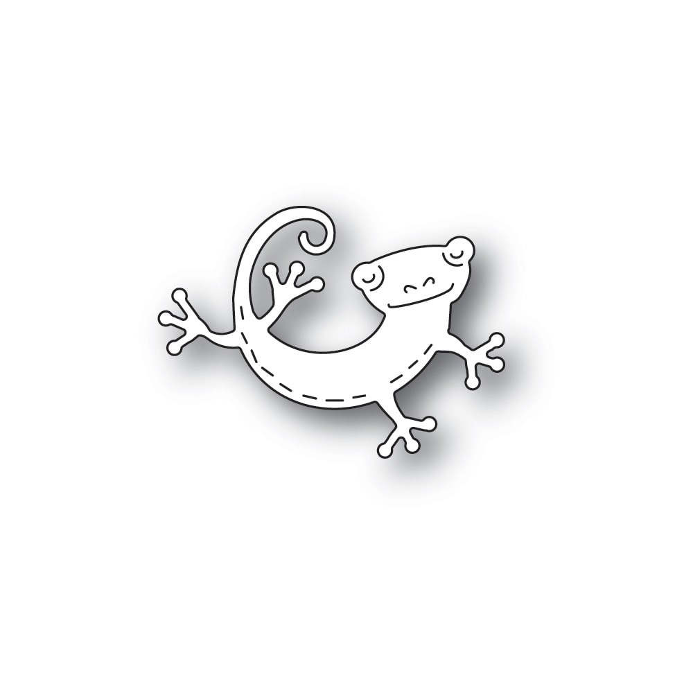 Poppystamps Whittle Lizard 2439