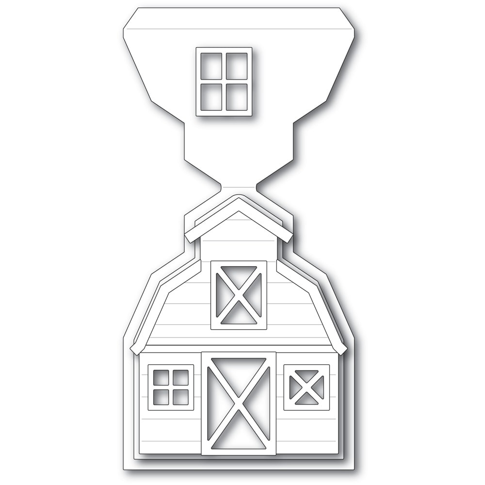 Poppystamps Country Barn Pop Up Easel Set 2443