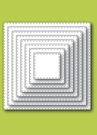 Memory Box Stitched Square Layers dies 30038
