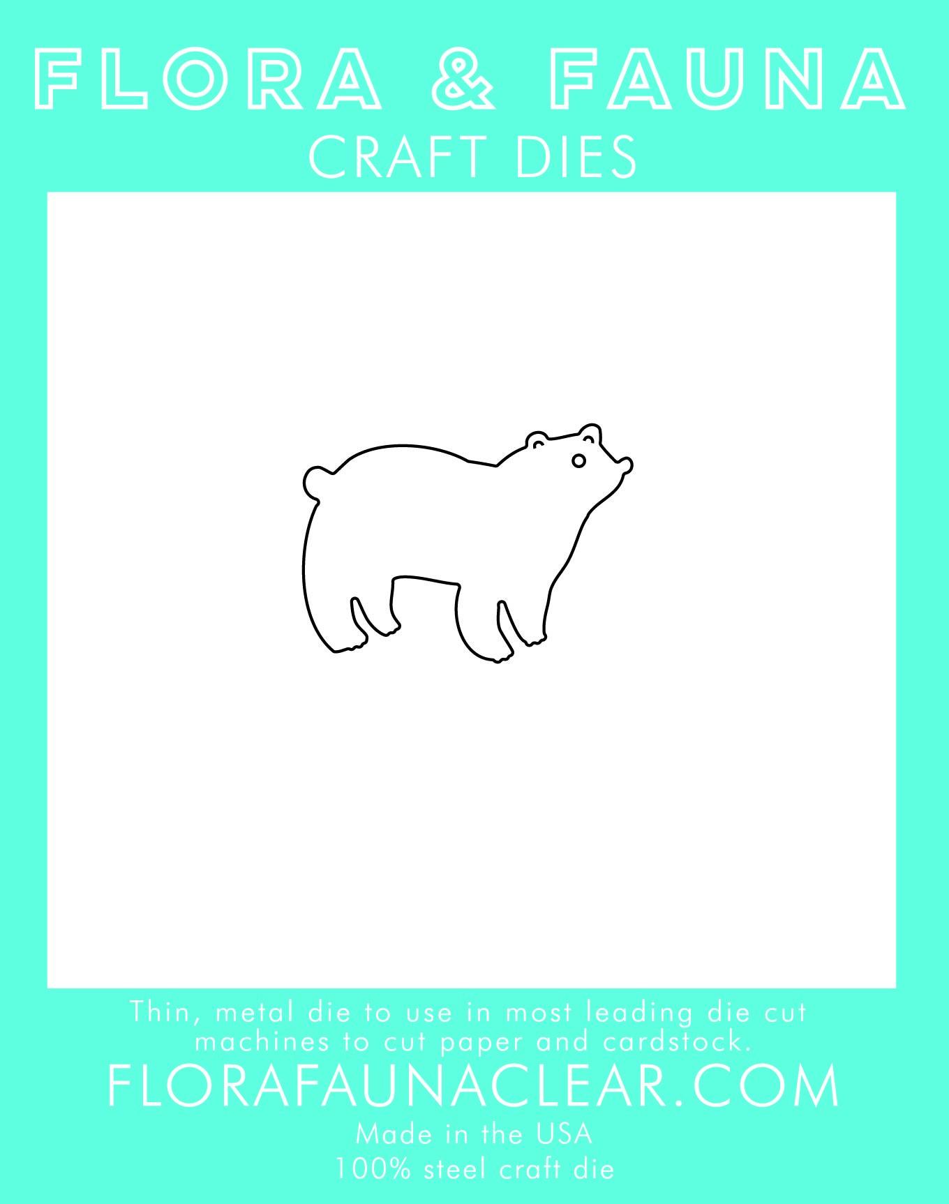 Flora & Fauna Polar Bear Die