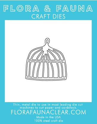Flora and Fauna Bird Cage Die (30042)