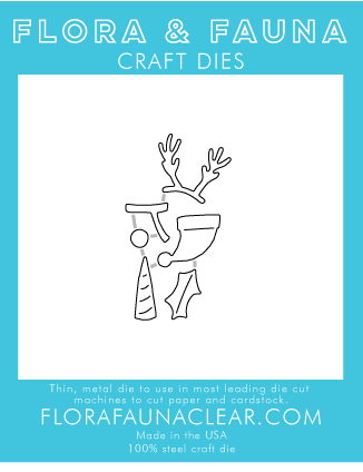 Flora and Fauna Holiday Accessories 2 Dies 30069