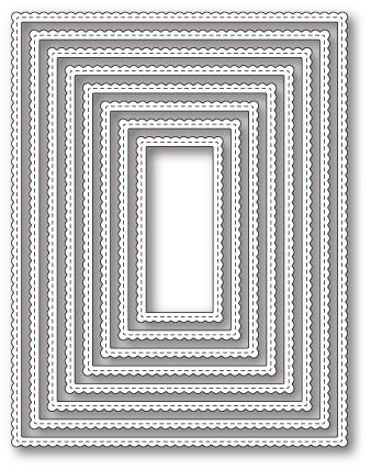 Scalloped Stitch Fancy Frames (30090)