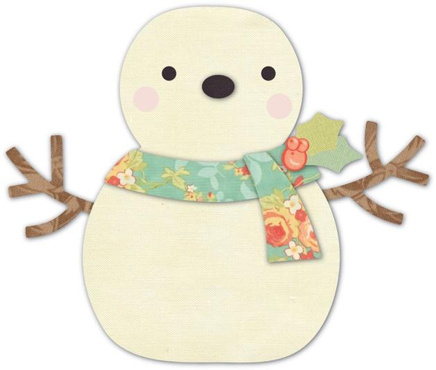 Cheering Snowman Deep Edge Die 30105