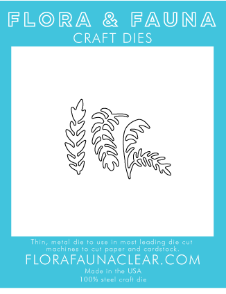 Flora and Fauna Plant Lady Cluster Die 30109