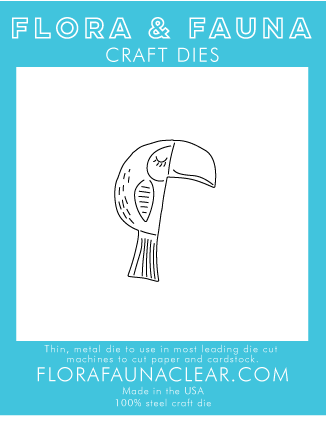 Flora and Fauna Toucan Die 30113