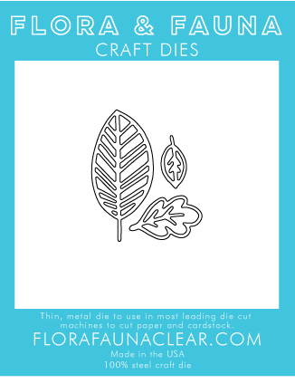 Flora and Fauna Leaf Cluster Die 30127