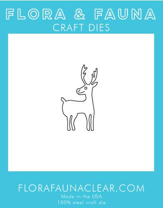 Flora and Fauna Woodland Deer Die 30183