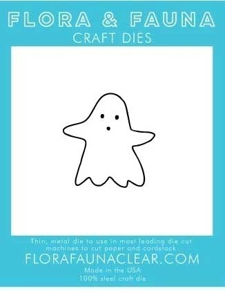 Flora and Fauna Outline Ghost Die 30189