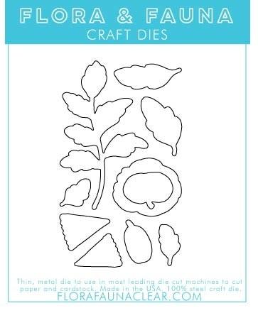 Flora and Fauna HEY PUMPKIN DIE SET 30196