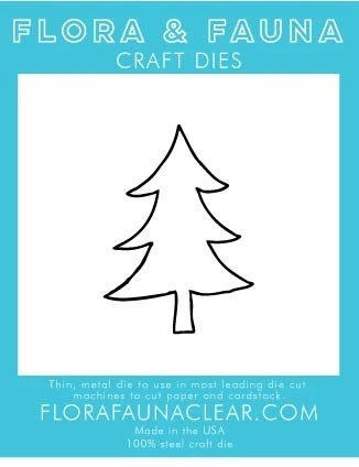 Flora and Fauna Outline Tree Die 30210