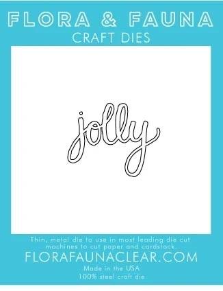 Flora and Fauna Jolly Cursive 30212