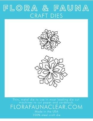 Flora and Fauna Small Snowflake Duo 30221