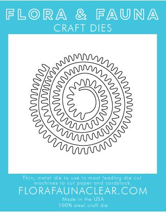 Flora and Fauna Spiral Flower Die 30229