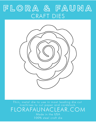 Flora and Fauna Succulent Die 30243