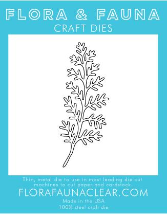 Flora and Fauna Delicate Fern 30247