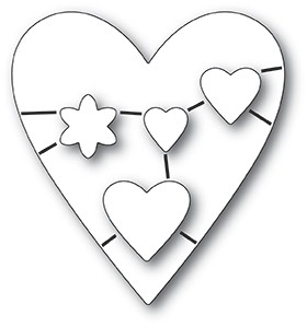 Wirework Hearts die set 32218