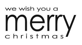 Penny Black we wish you a merry Christmas 3517f