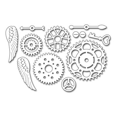 Penny Black cogwheels 51-311