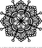 5199D - lacy snowflake