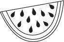 5209C - watermelon slice