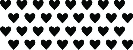 5237I - heart border