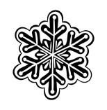 5314D - snowflake cookie
