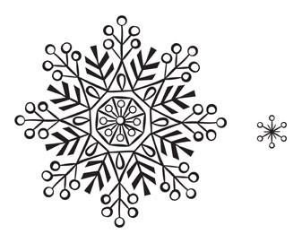 5316H - sparkle snowflake