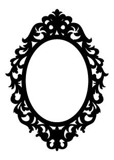 5322F - ornate frame