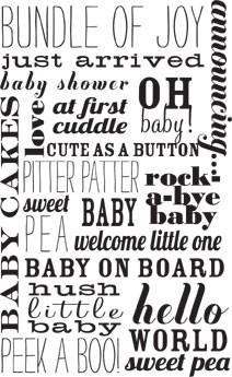 5386I - baby words