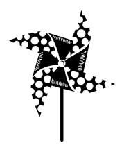 5395D - large pinwheel