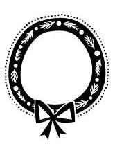 5418E - wreath frame