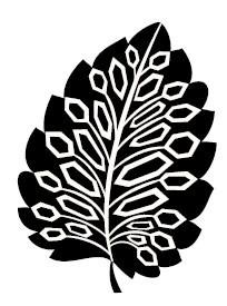 5423E - geometic leaf