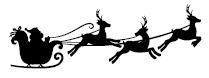 5535c - santa in sleigh