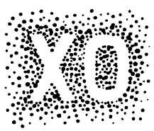 5550d - confetti xo