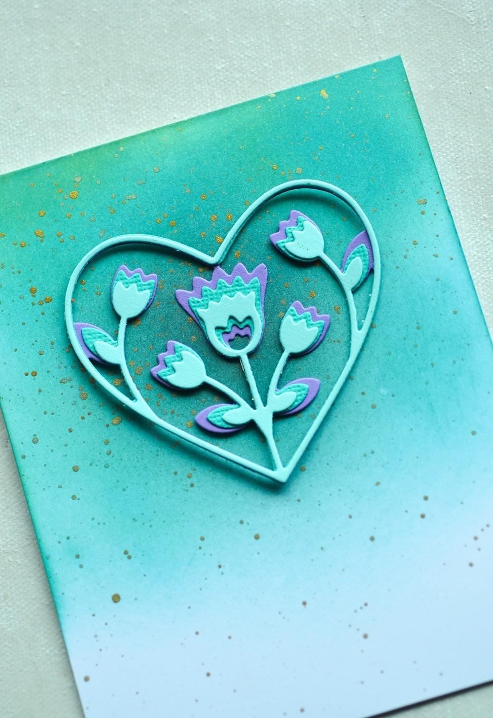 Birch Press Folk Art Heart Layer Set 56119
