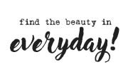 5652d - find the beauty rubber stamps