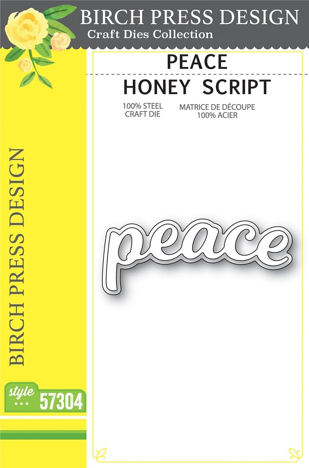 Birch Press Peace Honey Script 57304