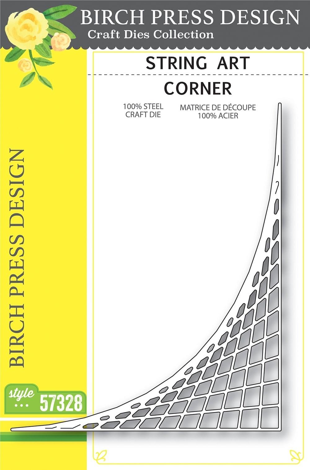 Birch Press String Art Corner 57328