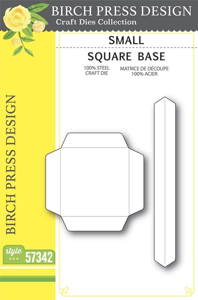 Birch Press Small Square Base  57342