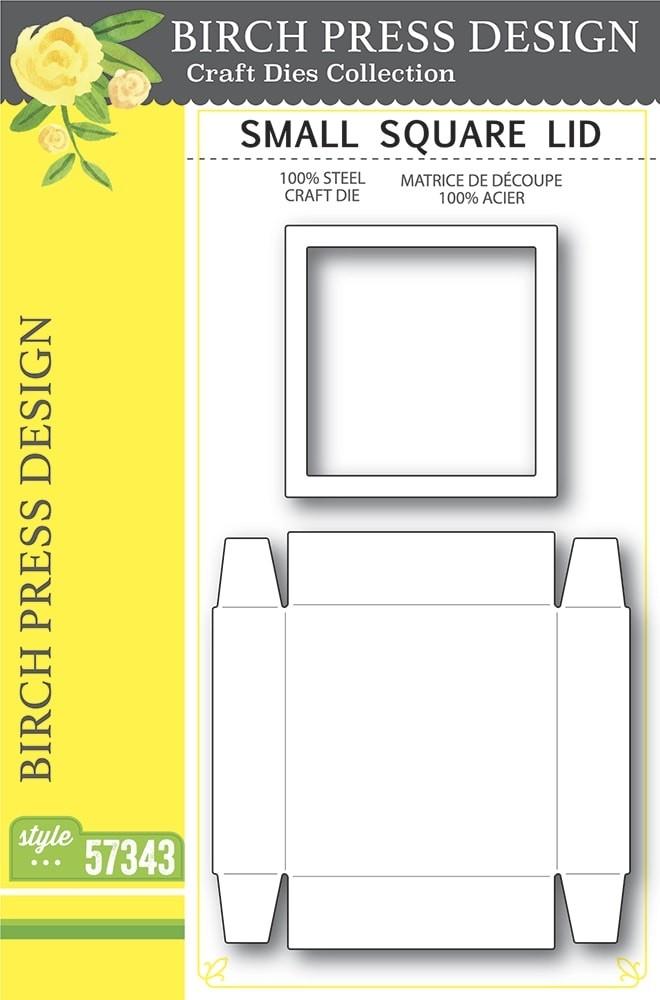 Birch Press Small Square Lid 57343
